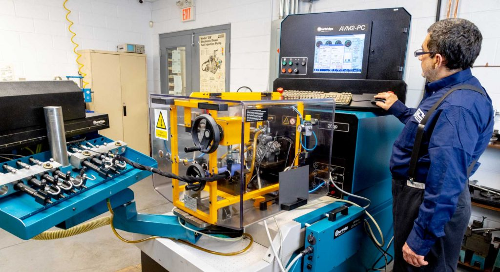 Fuel Injection Pump - Testing AVM2-PC